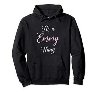 Emmy Name Hoodie Personalized Women Cute Pink Girl Gift