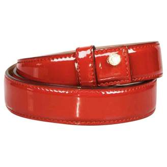 Jimmy Choo Red Patent leather Belts