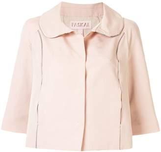 PASKAL clothes cropped peter pan collar jacket
