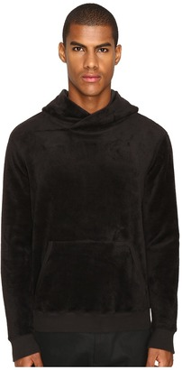 ATM Anthony Thomas Melillo - Velour Hoodie Men's Sweatshirt $295 thestylecure.com