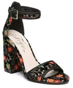 Fergie Courtney Dress Block Heel Sandals