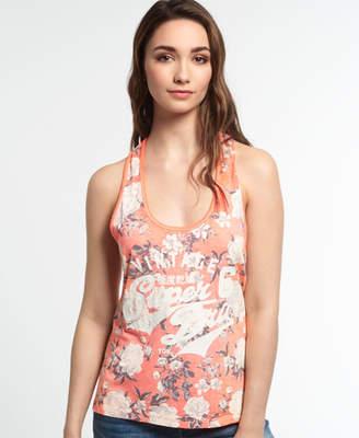 Superdry Romance Floral Burnout Vest Top