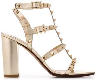 5abc986ef9dd5 Valentino Rockstud block-heel sandals