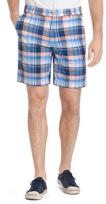 Izod Multicolour Madras Cotton Shorts
