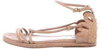 Alaia Stud Embellished Multistrap Sandals