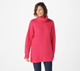 G.I.L.I. Got It Love It G.I.L.I. Long-Sleeve Oversized Turtleneck Sweater