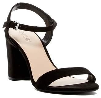 491c3e4828 Black Faux Suede Women's Sandals - ShopStyle