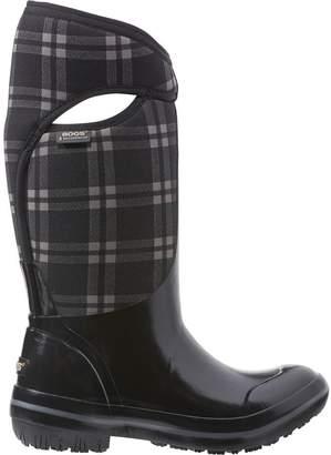 Bogs Plimsoll Plaid Tall Boot - Women's