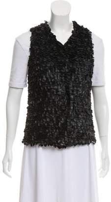 Robert Rodriguez Casual Embellished Vest