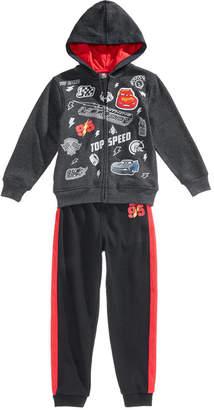 Disney Disney's Cars 2-Pc. Front-Zip Hoodie & Pants Set, Little Boys