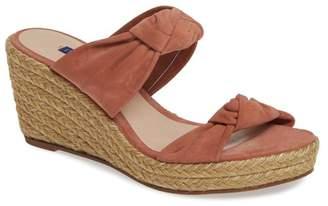 Stuart Weitzman Sarina Espadrille Wedge Slide Sandal (Women)