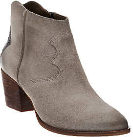 Marc Fisher Suede Ankle Boots - Stefani