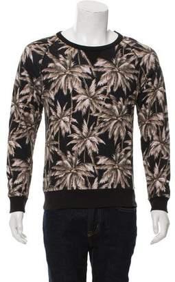 Dries Van Noten Palm Tree Crew Neck Sweatshirt
