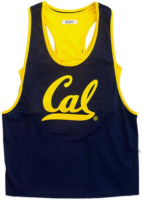 Nuyu Women California Golden Bears Mesh Tank Bralette