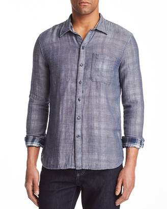 John Varvatos Double-Faced Reversible Button-Down Shirt