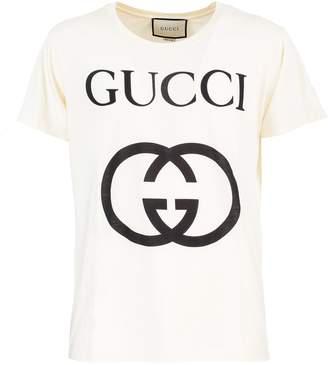 Gucci Oversized cotton jersey T-shirt