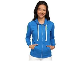 U.S. Polo Assn. Fleece Hooded Jacket Women's Coat
