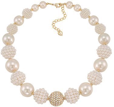 Carolee Carolee Pearl Stone Necklace