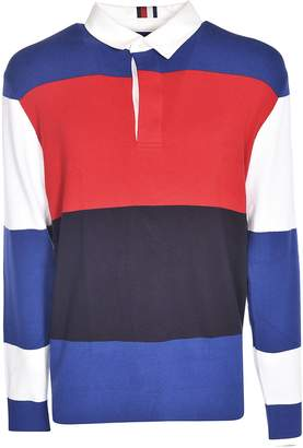 Tommy Hilfiger Color-block Polo Shirt