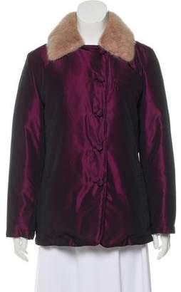 Blumarine Iridescent Down Jacket