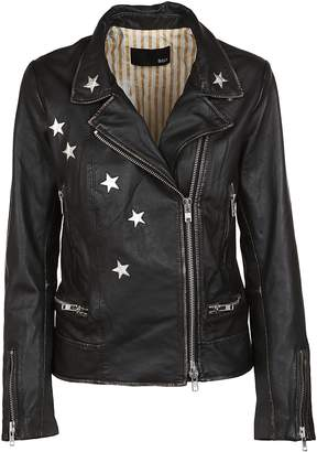 Bully Star Patched Biker Jacket