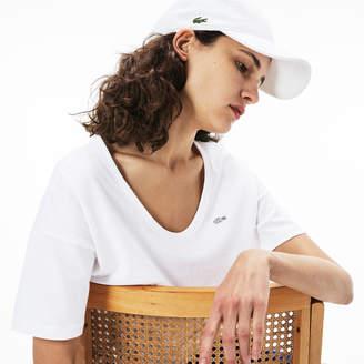Lacoste (ラコステ) - ワイドネックTシャツ (半袖)