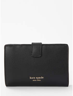 Kate Spade Sylvia Medium Coated Leather Bi-Fold Wallet