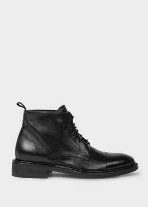 Paul Smith Women's Black 'Jarman' Leather Boots