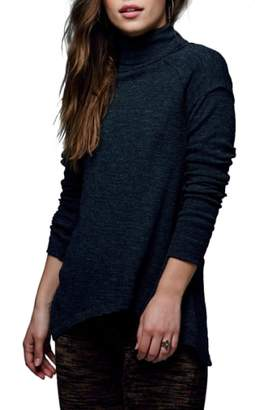 Women's Free People Split Back Turtleneck