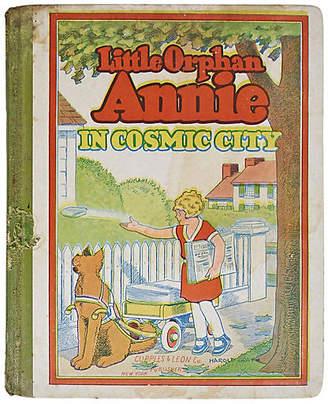 One Kings Lane Vintage Little Orphan Annie in Cosmic City