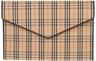 Burberry Large 1983 Envelope Pouch