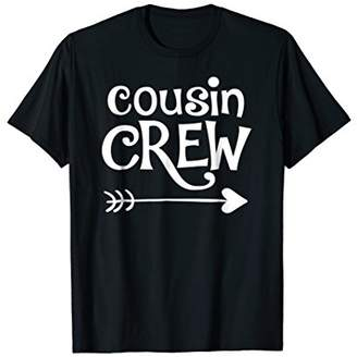 Cousin Crew Youth Shirts for Kids with Heart and Arrow