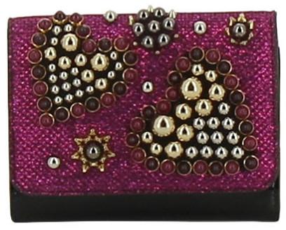 Christian Louboutin Christian Louboutin Macaron Valentine Glitter Mini Wallet