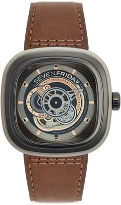 SEVENFRIDAY 'Revolution' automatic E465 watch