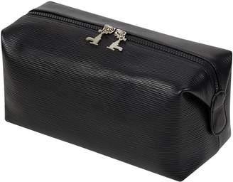 Czech & Speake Leather Wash Bag