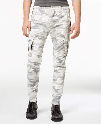 GUESS Men's Camo Cargo Pants