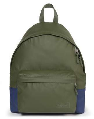 Eastpak Padded Pak'r Backpack in Brimblock Olive