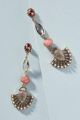 Anthropologie Marcella Linear Drop Earrings