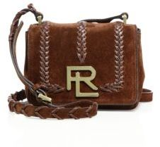Ralph Lauren Collection Mini RL Whipstitched Suede Crossbody Bag $1,750 thestylecure.com