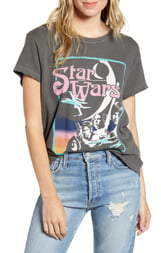 Junk Food Clothing Star Wars(TM) Distressed Graphic Tee