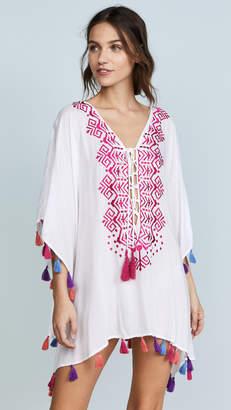Bindya Provence Lace Up Tunic