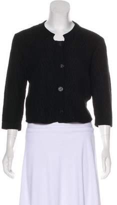 Max Mara Button-Up Knit Cardigan