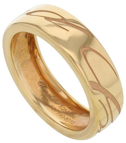 ChopardChopard 18K Rose Gold Chopardissimo Ring Sz 7
