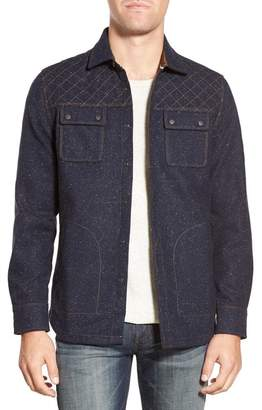 Jeremiah Patton Embroidered Neppy Regular Fit Shirt Jacket