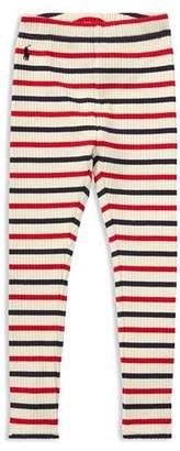 Ralph Lauren Girls' Striped Leggings - Little Kid