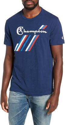 Todd Snyder + Champion Stripe Graphic T-Shirt