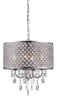 Warehouse of Tiffany Oisetta 4-Light Crystal Chandelier