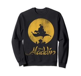 Disney Aladdin Jasmine And Aladdin Magic Carpet Silhouette Sweatshirt
