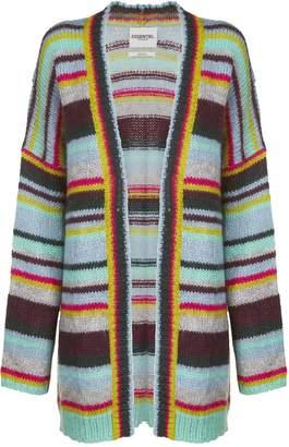 Essentiel Striped Knitted Cardigan