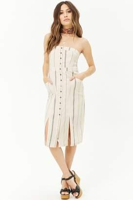 Forever 21 Striped Tube Dress